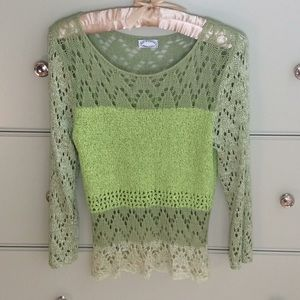 Ball of Cotton crochet sweater